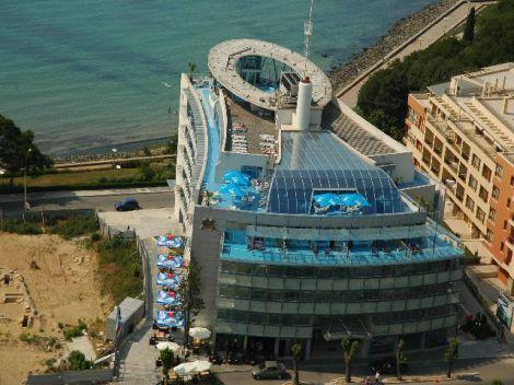 Външен изглед на Хотел Сол Марина Палас в Несебър (България)