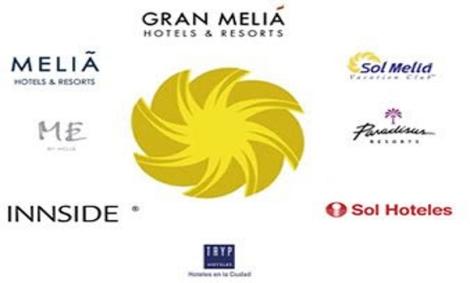 Мелиа Хотели раполага с ралични марки, според вида туристи които се настанват в хотелите.
