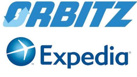 Лого Expedia и Оrbitz